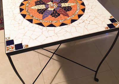 Mosaic-square-table